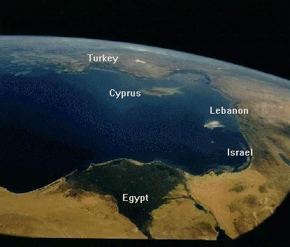 Foto vanuit de ruimte